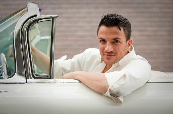 Peter Andre is on the Caveman Diet