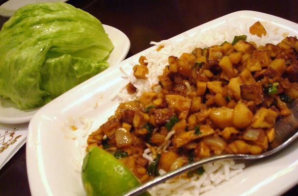 PF Chang's Chicken Lettuce Wraps Gluten Free Copycat