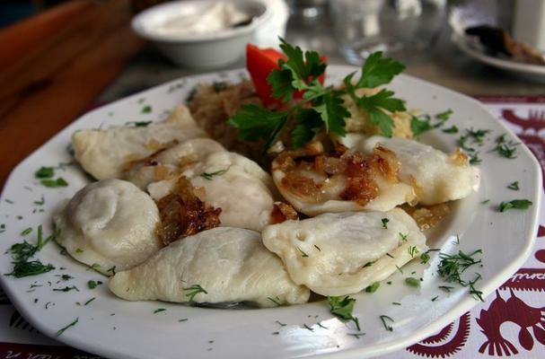 Foodista | Traditional Potato and Cheese Pierogi