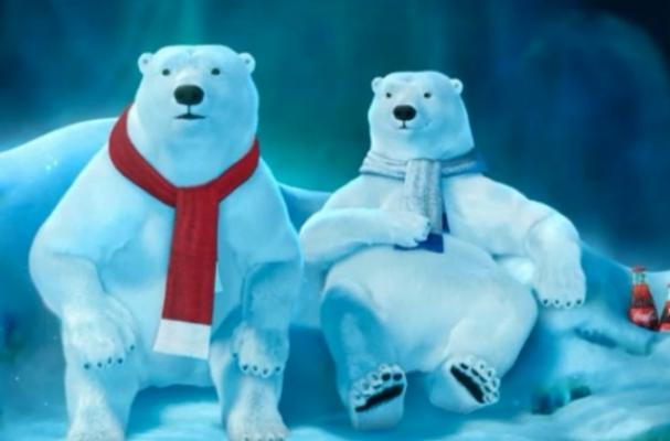 Football Loving Polar Bears Star in Coca-Cola's Super Bowl Commercial