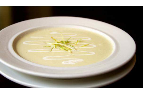 leek cauliflower potato soup