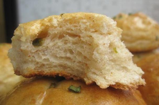 Potato Scallion Bread Rolls