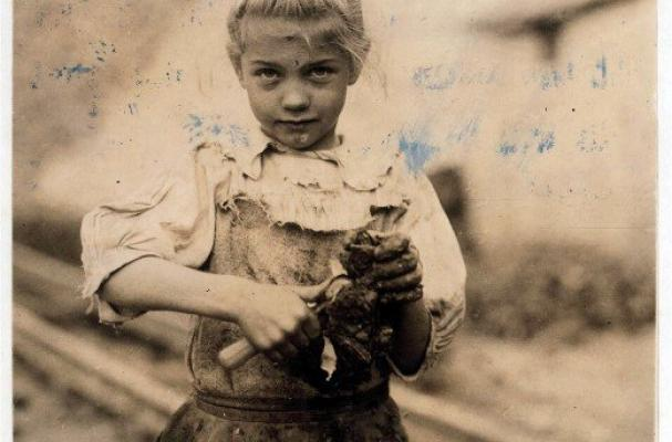 child oyster shuckers