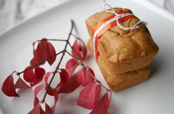 mini butternut spice bread