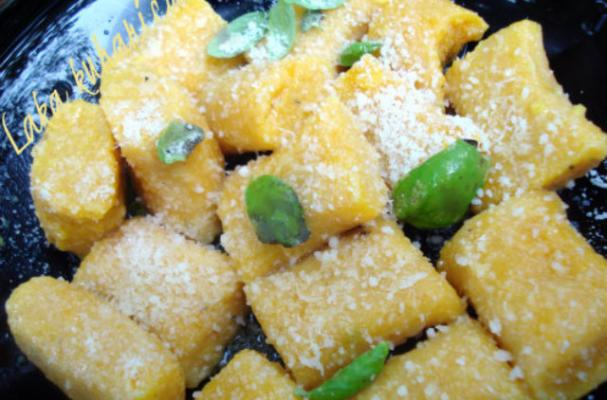 Meatless Monday: Pumpkin Gnocchi with Basil and Parmesan