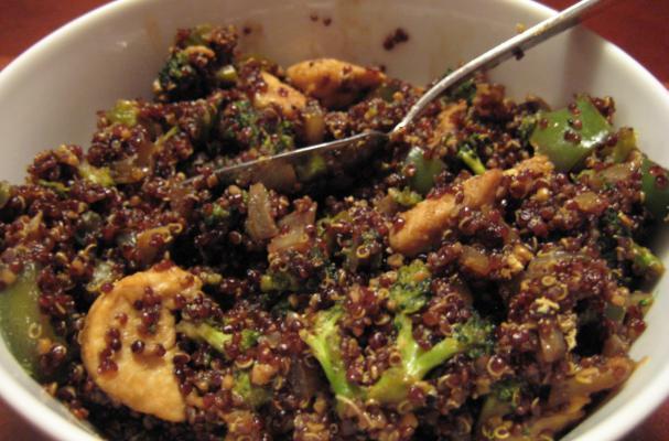 Protein-packed chicken stir-fry photo