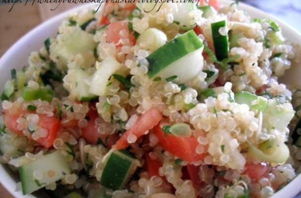 gluten-free Quinoa Tabbouleh Salad