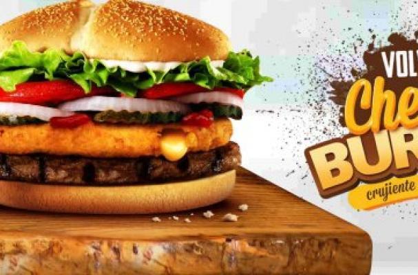 Burger King Chile's Cheesy Burger