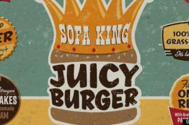 Sofa King Juicy Burger