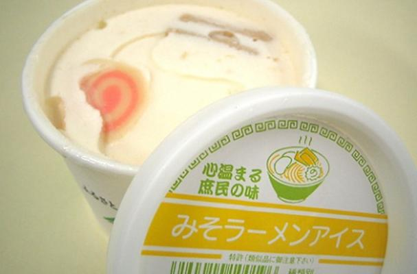 Ramen-Flavored Ice Cream
