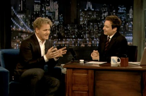 Jimmy Fallon Imitates Gordon Ramsay During Interview