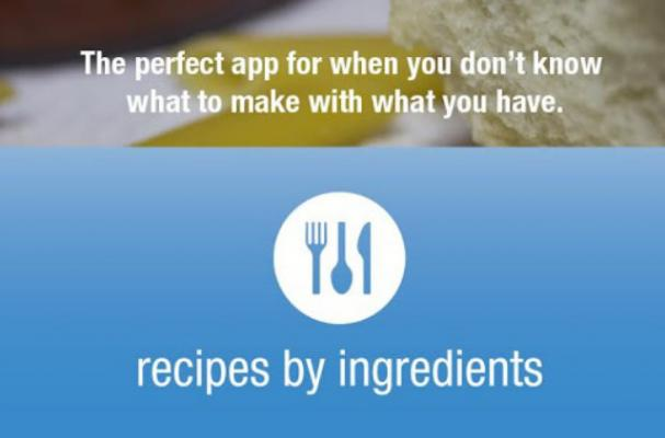 Recipes by Ingredients App Teaches You to Cook With What You Already Have