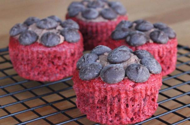 Low-Cal Red Velvet Stevia Cupcakes