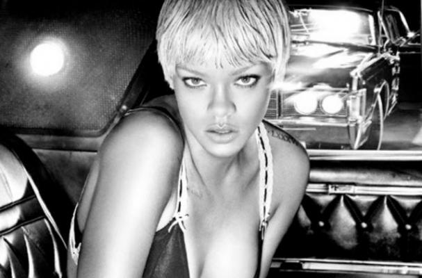 Rihanna Needs Liquid Courage Before Hitting the Stage