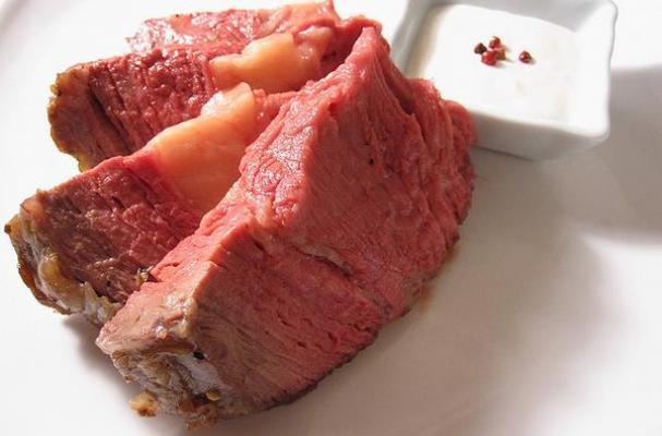 Foodista | Stupid-Simple Beef Roast with Horseradish Sauce