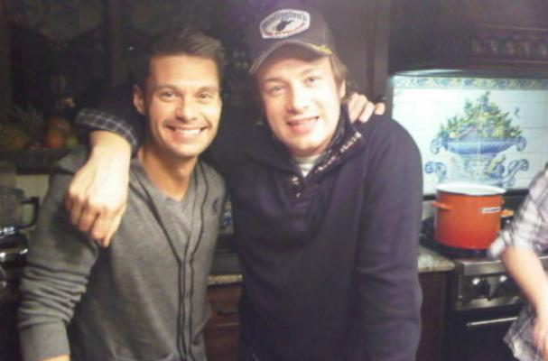 Ryan Seacrest Signs On For Film Based On Jamie Oliver