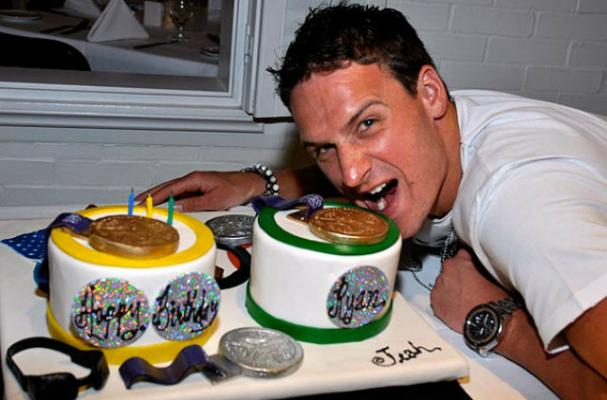 Ryan Lochte's Birthday Cake Shows-Off Olympic Medals