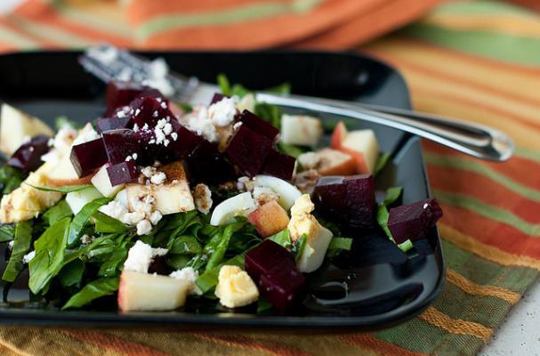 beet apple salad