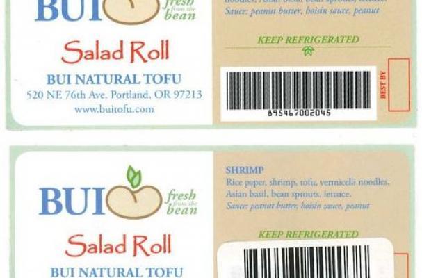 Salad Roll Recall
