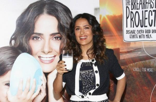 Salma Hayek Joins Got Milk? Campaign