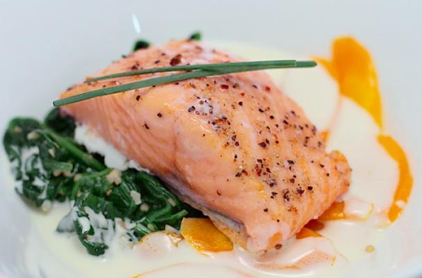 Oscar Worthy Baked Salmon with Lemongrass Sauce