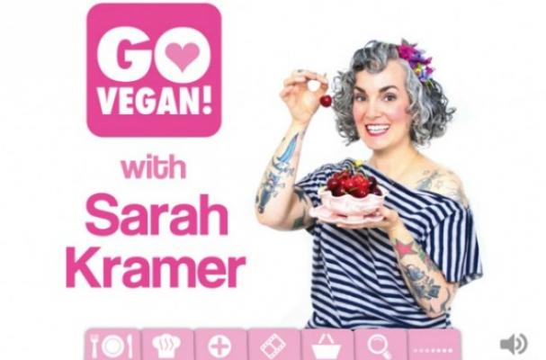Sarah Kramer Releases Vegan App