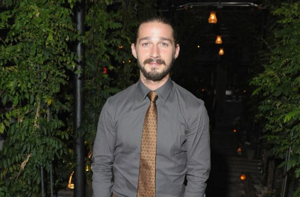 Shia LaBeouf Gives Up Drinking, But Drank on Set of 'Lawless'