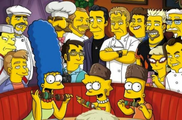 The Simpsons Food Wife