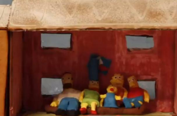 The Simpsons Gingerbread House is a Cartoonish Holiday Treat