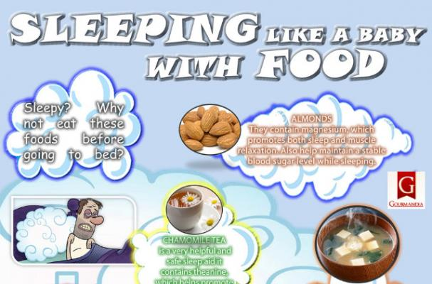 Infographic: Foods That Will Help You Sleep Like a Baby