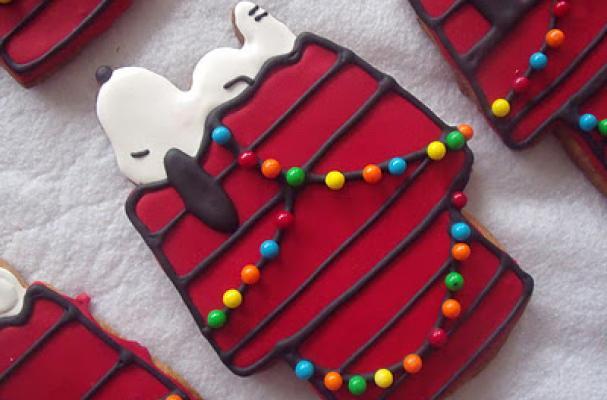 Foodista Snoopy Cookies
