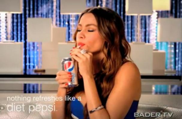 Sofia Vergara Stars in Diet Pepsi Commercial