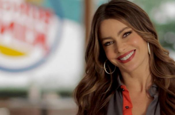 Sofia Vergara Stars in New Burger King Commercial