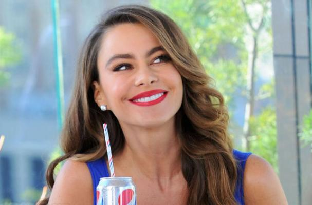 Sofia Vergara Gets Nostalgic with Pepsi