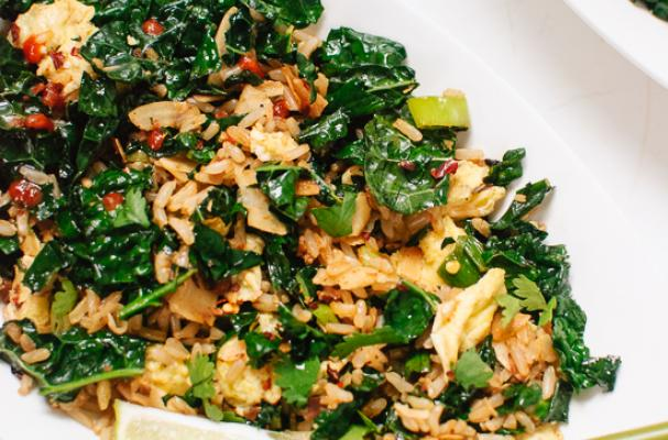 Turkey And Kale Fried Rice Recipes — Dishmaps
