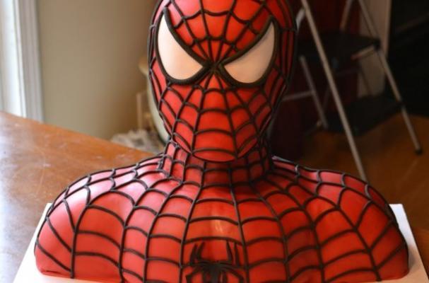 Easy Spiderman Cake Tutorial