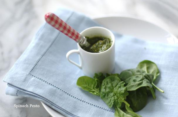 vegetarian recipes spinach pesto