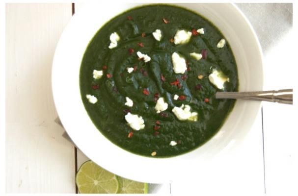 Simple Spinach and Potato Soup