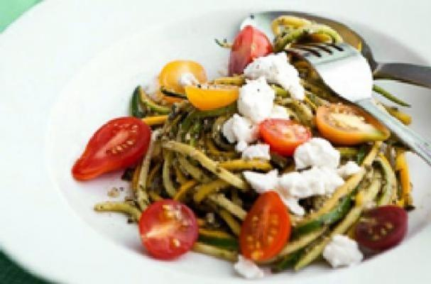 Meatless Monday: Pasta Salad with Zucchini and Summer Squash