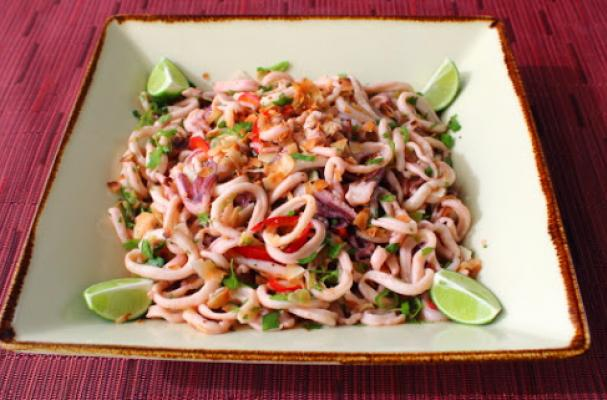 how to prepare and cook squid video