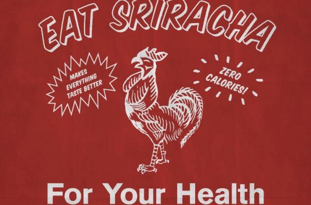 Eat Sriracha Infographic