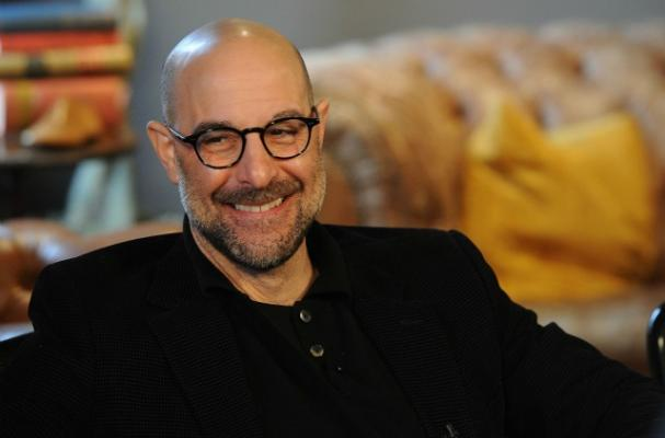 Stanley Tucci Working on Cookbook