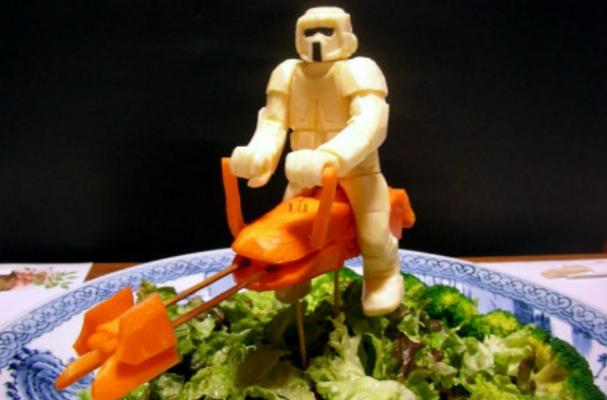 Japanese Chef Creates Vegetable Star Wars Figurines