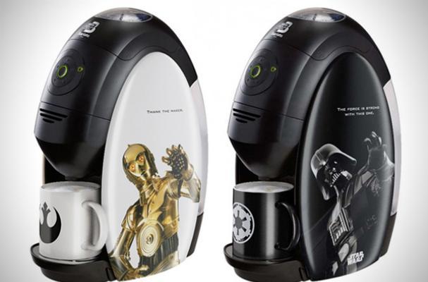 Nestle Star Wars Coffee Machines