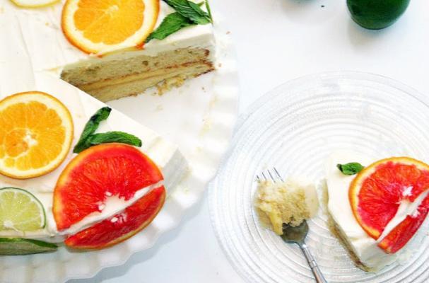 Citrus Cake Inspired By Stella McCartney