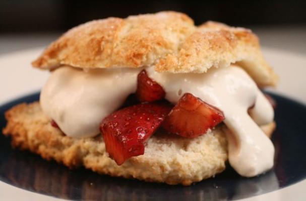 allergy free gluten free grain free GFCF milk dairy free strawberry shortcake