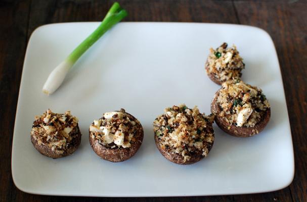 Foodista | Gluten Free Stuffed Mushrooms 3 Ways