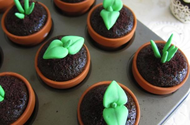 Sachiko Windbiel's Sweet Sprout Fondant Cupcake Toppers