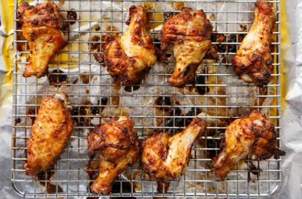 Sweet Tea-Brined Hot Chicken Wings