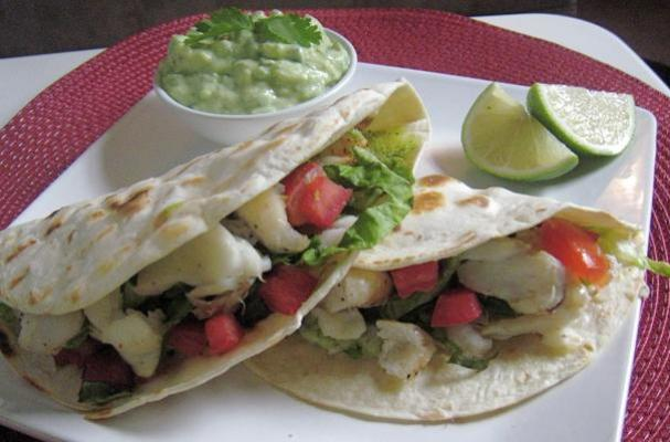 Fabulous Fish Tacos with Tequila Infused Guacamole